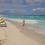 The perfect beach day in Cancun