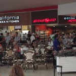 California Pizza Kitchen and convenience store Cancun Airport
