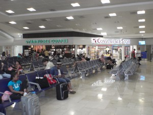 Cancun Airport Departures Area