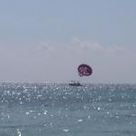 Parasailing in Playa del Carmen