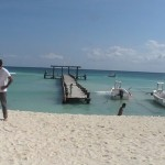 Fishing Pier at Playa del Carmen