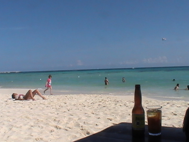 Beach at Playa del Carmen