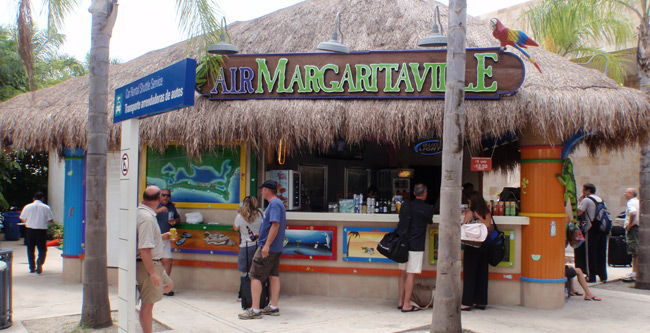 Air Margaritaville at the Cancun Airport
