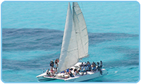 Catamaran Day Trips to Isla Mujeres